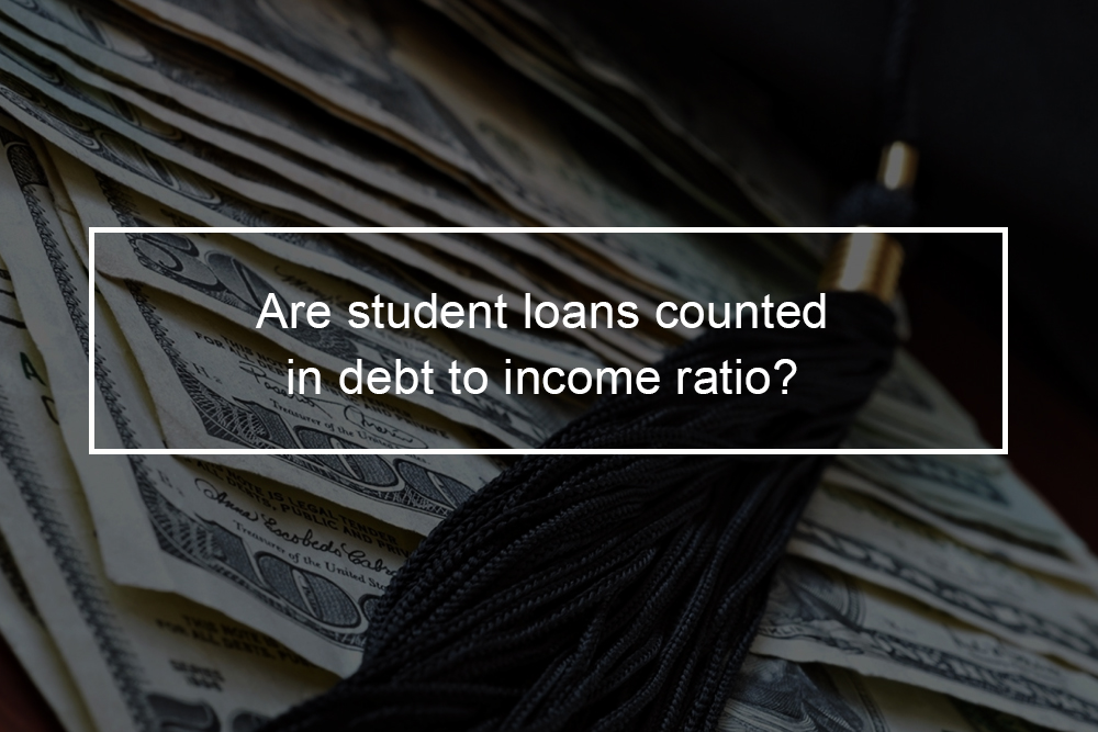 What is the debt-to-income ratio?