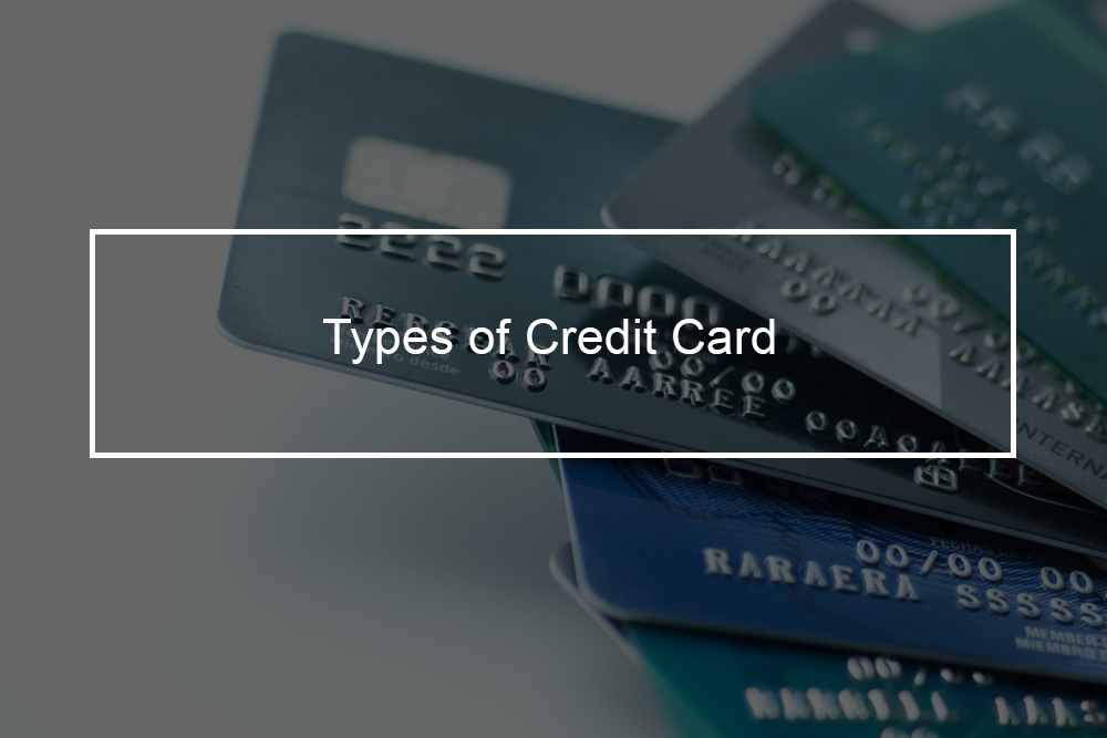 The four basic credit cards types