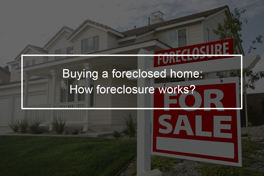 Buying a foreclosed home: How foreclosure works?