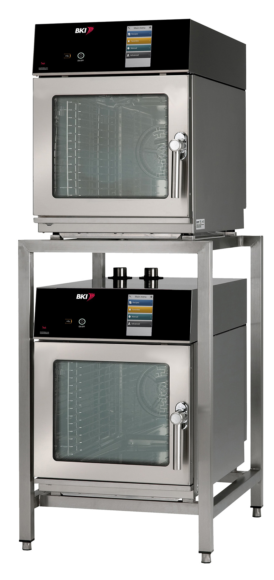 Features of BKI CLBKI-6E electric combi oven
