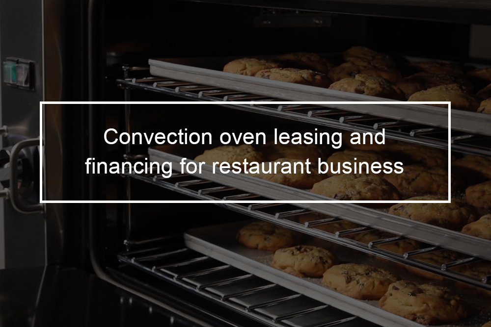 Garland MCO-GS-10-ESS convection leasing and financing for your restaurant business